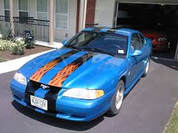 custom 1994 mustang 1994 custom mustang paint what do you think ford mustang