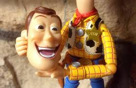 Revoltech Woody Meme - revoltech woody figure showing the two interchangeable woo flickr