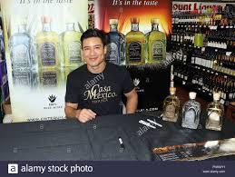 Liquor Signs Mario Lopez Signs Bottles Of Casa Mexico Tequila At Lee U0027s Liquor