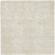 aros collection new zealand felted wool shag rug in winter white