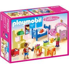 chambre bébé playmobil playmobil 5306 chambre d enfants avec lits superposés achat