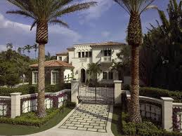 Florida Mediterranean Style Homes - mediterranean style home in palm beach florida side dishes main