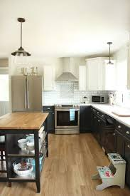 Two Coloured Kitchens 83 Best Flooring Images On Pinterest Homes Vinyl Flooring And Live