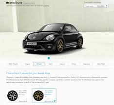 gold volkswagen beetle beetle realtimeuk