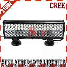 12v led light bar 17 216w cree led light bar 12v led driving light combo for offroad