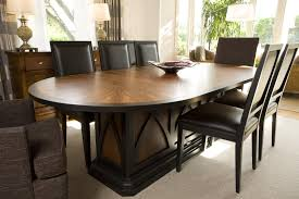 high end dining tables with contemporay glass on top design feat