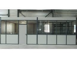 cloison pour bureau cloison amovible vitrée pour bureaux ou industrie actiflip devis