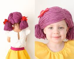 raggedy ann halloween makeup she says this is easy but tutorial how to make a yarn wig