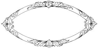 oval frame clip art clip art library