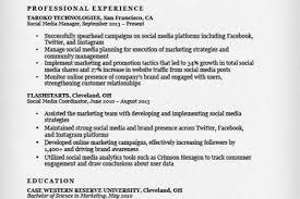 Social Media Resume Sample by Resume Sample Social Media Marketing Resume Resume Samples Sample
