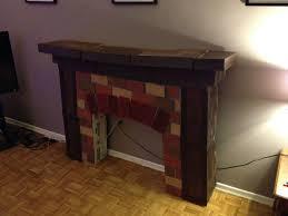 fresh fake fireplace cardboard inspirational home decorating