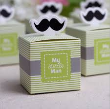 Birthday Favor Boxes by 30pcs My Mustache Birthday Boy Baby Shower Favor