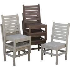 eagle one cape cod 6 person recycled plastic patio dining set