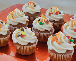 beki cook s cake pumpkin mini cupcakes with cheese icing