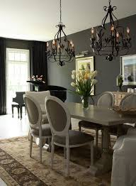 23 Dining Room Chandelier Designs Decorating Ideas Classy Grey Dining Room Decorating Inspirations For The Home