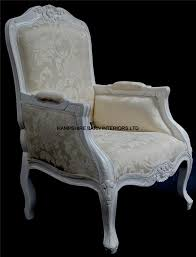 Bedroom Furniture New Hampshire A French Chateau Style Ornate Arm Chair Bedroom Antique White