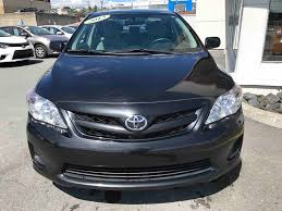 2013 model toyota corolla used 2013 toyota corolla ce in st georges used inventory méga