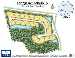 South Carolina Cottages by Cottages At Shaftesbury New Homes In Conway Sc H U0026h Homes