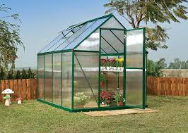 Palram Polycarbonate Greenhouse Amazon Com Palram Nature Series Mythos Hobby Greenhouse 6 U0027 X 8