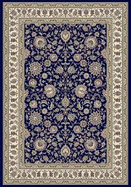 Navy Area Rug Davinci Kashan 34 Navy Area Rug Traditional Rugs Carpetmart