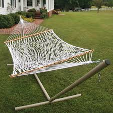 Outdoor Hammock With Stand Beam Hammock Stand In Powder Coated Aluminum From Pawley Island