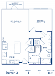 1 2 3 bedroom apartments in dallas tx camden belmont blueprint of stanton 2 floor plan 1 bedroom and 1 bathroom at camden belmont apartments