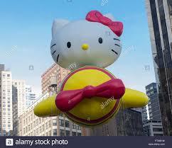 new york ny usa november 26 2015 hello balloon