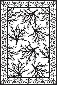 custom patterns and stencils for etching faux painting embossing