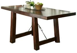 liberty furniture tahoe gathering table in mahogany stain 555