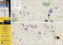 Tunis Metro Map by Tunis National Geographic Destination City Map National