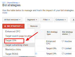 adwords bid how to set up target cpa smart bidding for your adwords caign