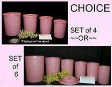 tupperware plastic kitchen canisters u0026 jars ebay