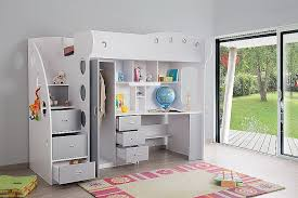 lit superposé avec bureau pas cher lit superposé avec bureau pas cher best of lit bureau bine high