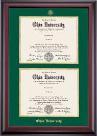 diploma framing home office diploma frames ohio alumni association store