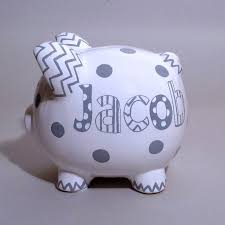 personalized silver piggy bank 47 best piggy banks images on piggy banks