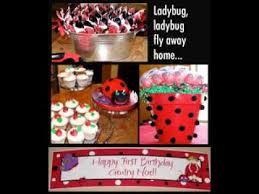 Ladybug Baby Shower Centerpieces by Diy Ladybug Baby Shower Decorations Ideas Youtube