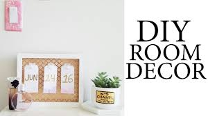 Room Decor Pintrest by Diy Room Decor U0026 Pinterest Inspired Youtube