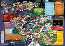 halloween horror nights map 2015 new at alton towers scarefest in 2015