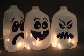 milk jug halloween crafts 2014 october niner times