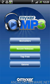 myxer free ringtones for android myxer mp3 free android app android freeware