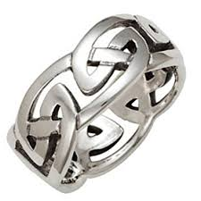 mens celtic rings mens 10mm solid silver celtic eternal knot ring gift boxed