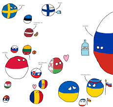 East Europe Map by Polandball Map Of Eastern Europe Polandballart