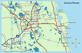 Melbourne Fl Map Map Of Central Florida