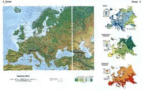 Relief Map Maps Of Europe And European Countries Political Maps