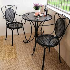 Marble Bistro Table And Chairs Amazing Wrought Iron Cafe Table Marble Top Bistro Table For Home