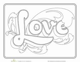 love one another coloring page funycoloring