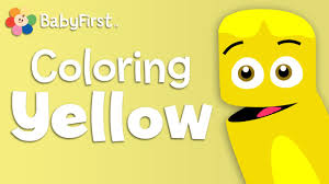 babyfirsttv color crew learn colors yellow color lesson for