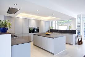 nottinghill belfast grey schuller kitchen installed in a