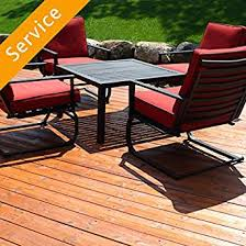 Patio Furniture Assembly Patio Set Assembly 3 Pieces Amazon Com Home Services