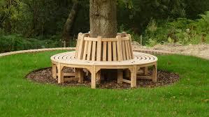 circular tree bench home